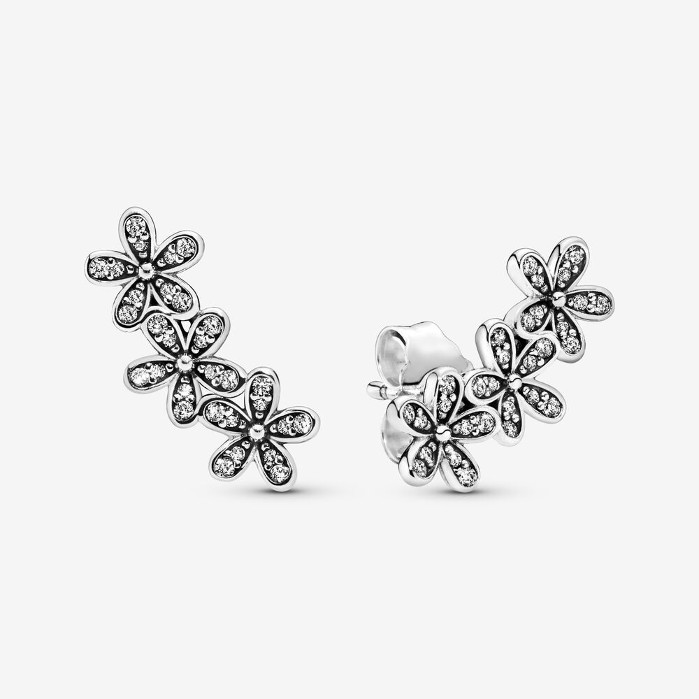 pandora daisy earrings