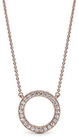 pandora gold necklace