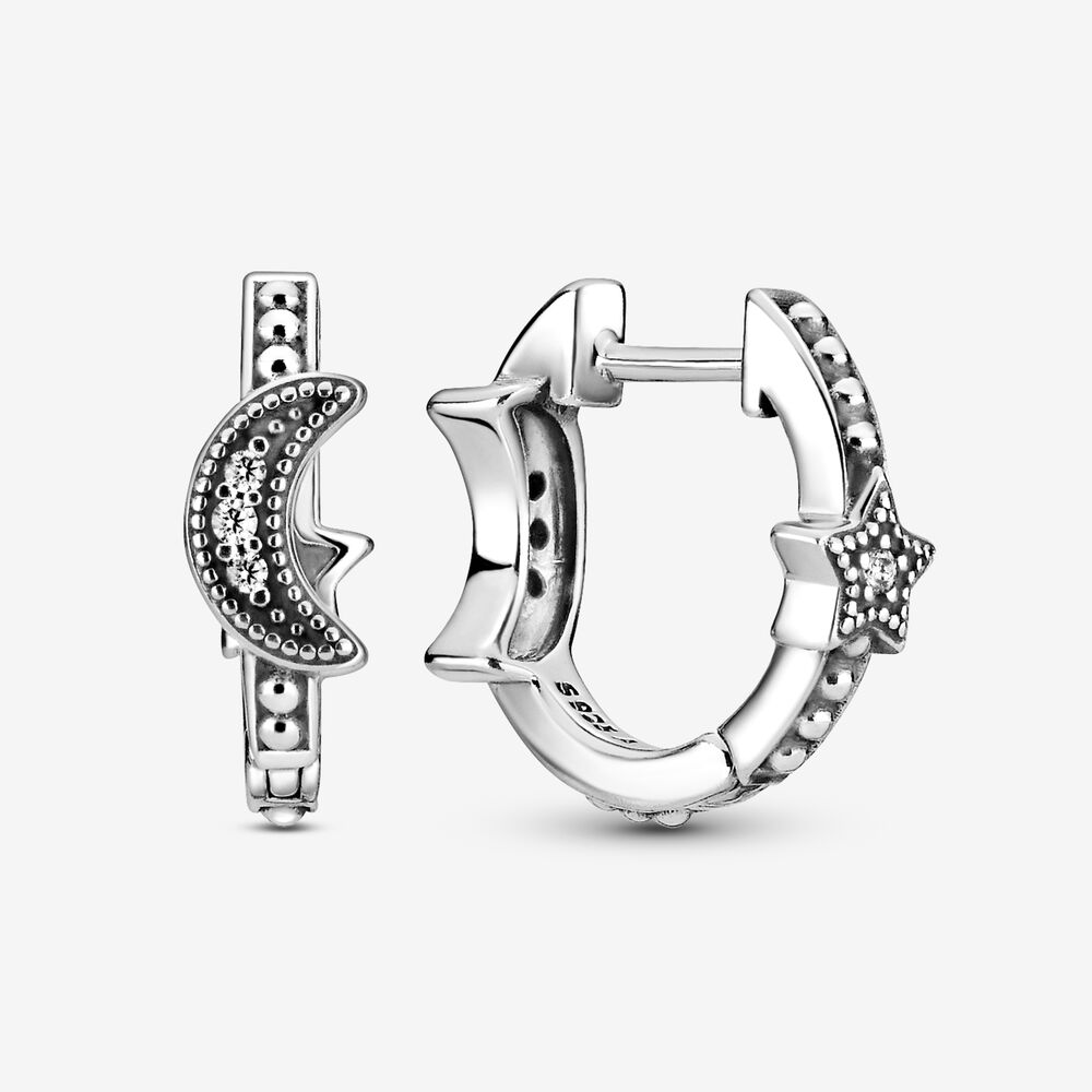 pandora hoop earrings