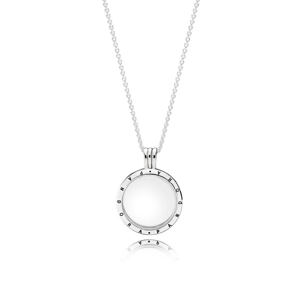 pandora locket necklace