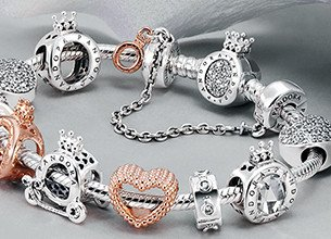 pandora rose gold charms australia